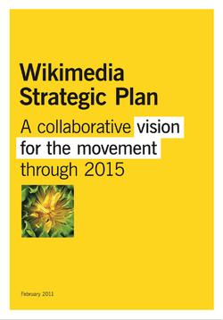 Wikimedia Movement Strategic Plan Summary