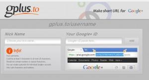 موقع يقوم بتقصير رابط صفحتك الشخصية علي جوجل بلس