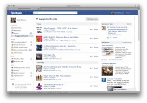 Screen Shot 2011 12 22 at 3.30.34 PM 520x365 300x210 الفيس بوك يوفر وظيفة الأحداث المقترحة