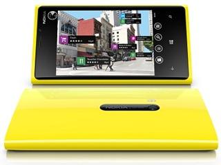 Nokia Lumia 920 - Yellow Portrait