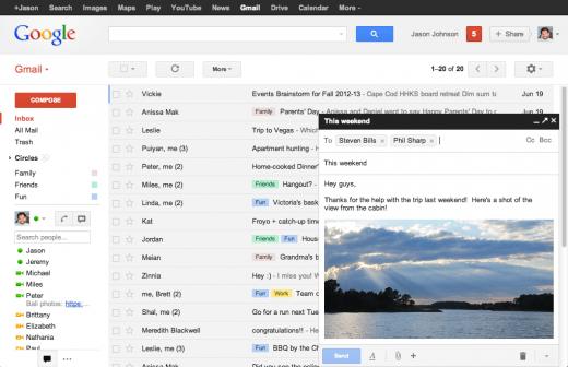 newcompose3 2 520x336 طريقة جديدة لكتابة البريد في الجيميل