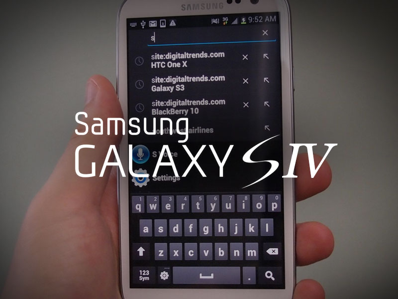 Galaxy S4 S IV