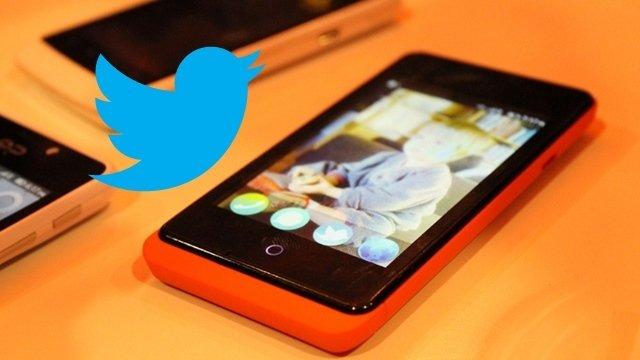 twitter Firefox os