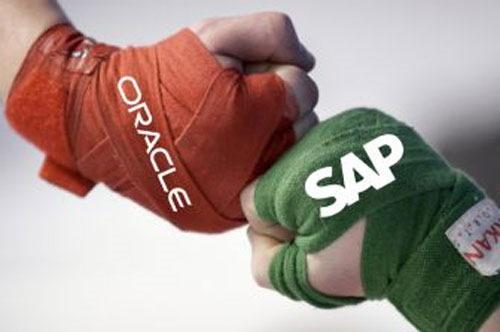 المنافسة بين Oracle و SAP