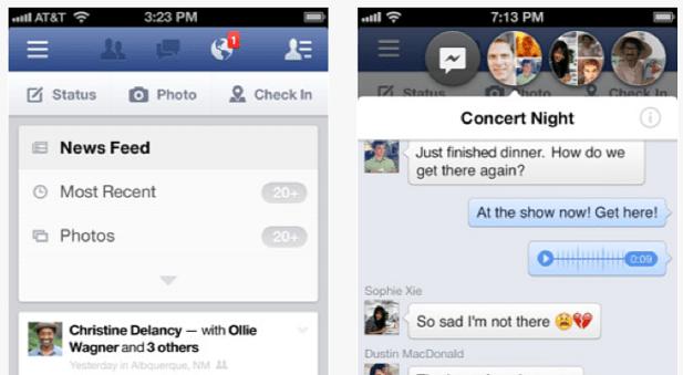 Facebook 6.1.1 for iOS
