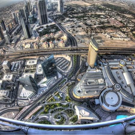 جوجل تقدم صور داخل مبنى برج خليفة