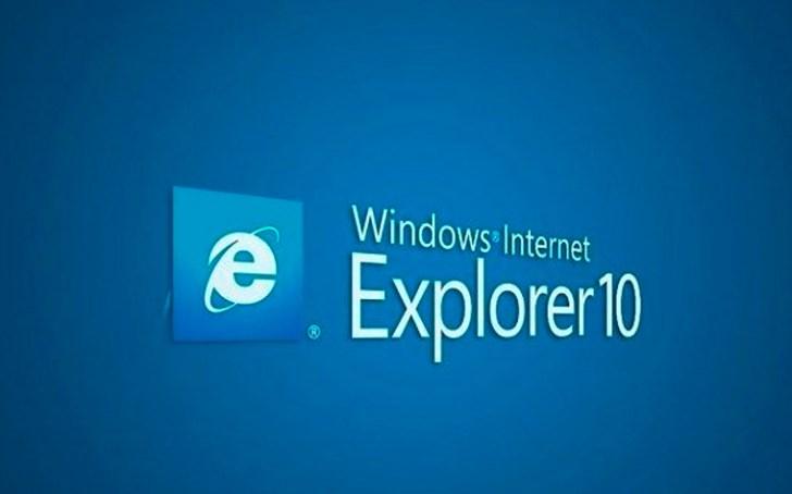 إنترنت إكسبلورر 10