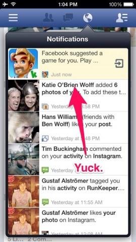 Facebook Game Ad