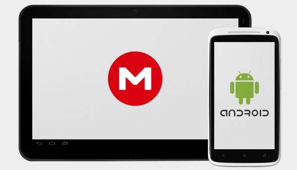 mega app خدمة MEGA تطلق تطبيقها على الأندرويد