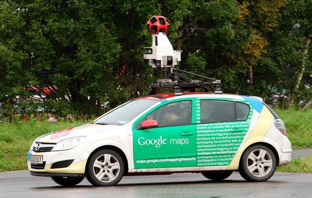 سيارات قوقل Street View