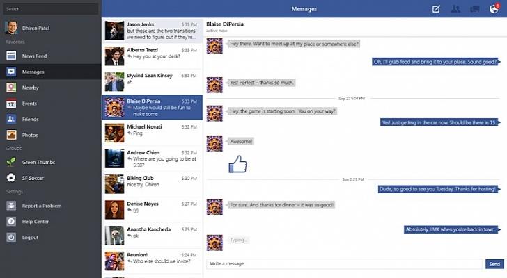 تحديث فيس بوك على ويندوز 81 يجلب خصائص تعديل المشاركات