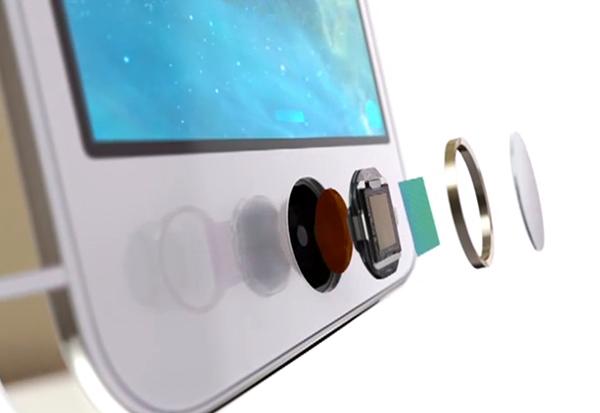 مستشعر Touch ID في آيفون 5 إس