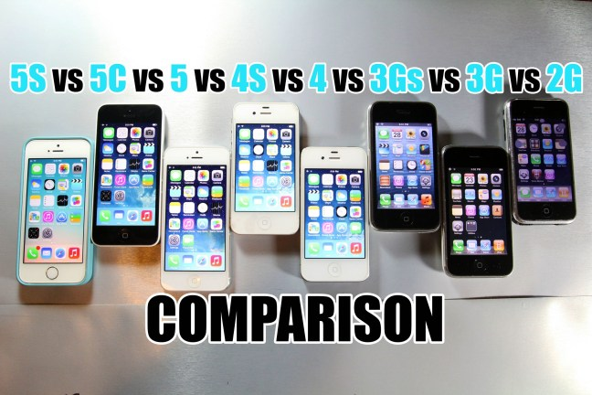 all iphones