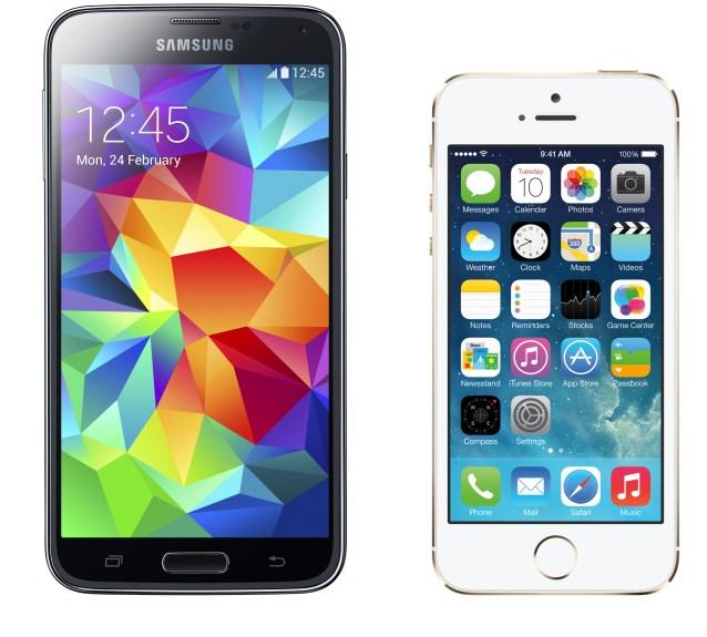 samsung-galaxy-s5-vs-apple-iphone-5s