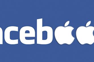 Facebook-Apple-logo