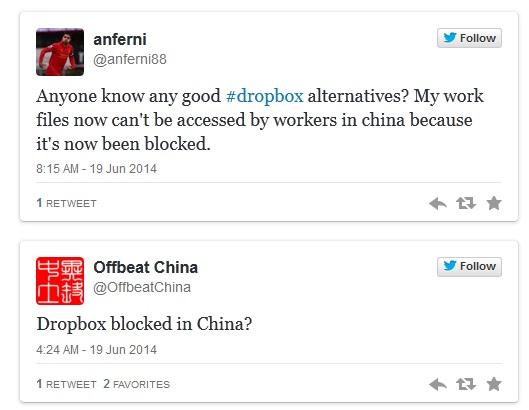 dropbox chine