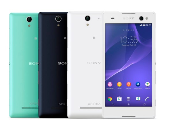 1_Xperia_C3_Group_Colours_Front_LR