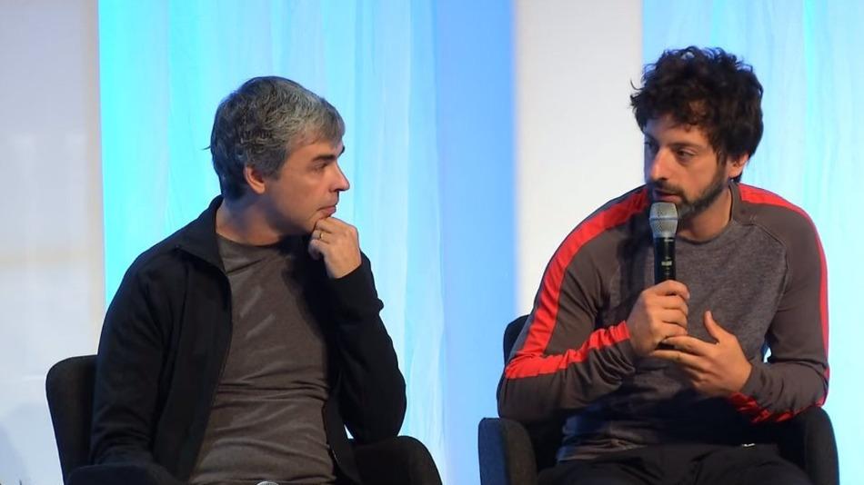 google founders مؤسسي قوقل يتحدثون عن واقع ومستقبل الشركة