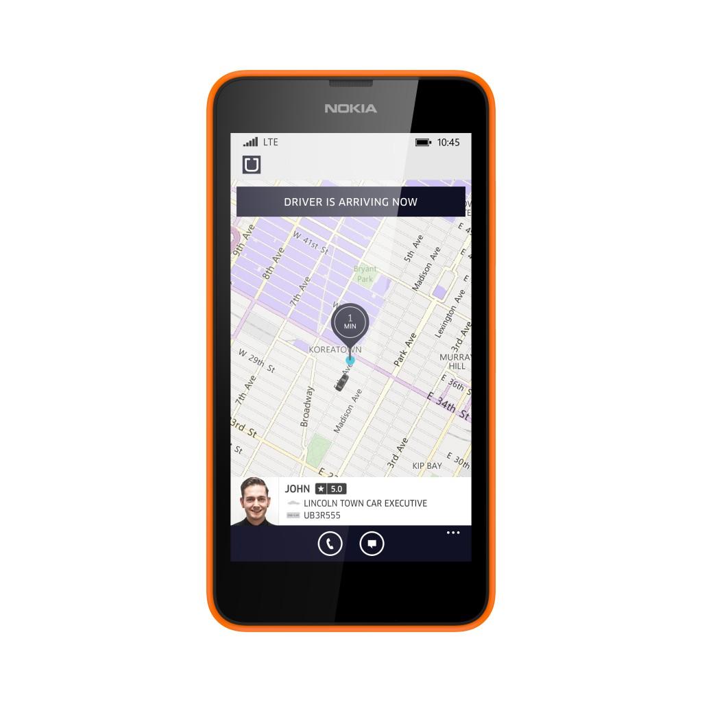 UBER  Orange Front 1024x1024 Uber  تطلق تطبيقها على ويندوز فون مع خصم 100 ريال في السعودية