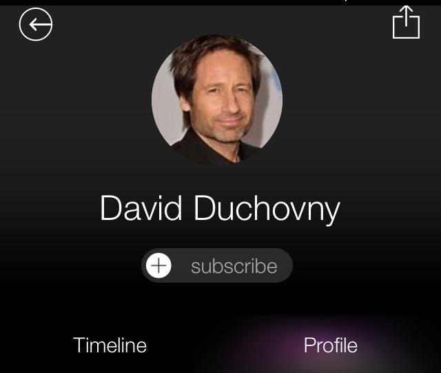 duchovny مايكرسوفت تقدم تطبيق متابعة أخبار المشاهير على iOS