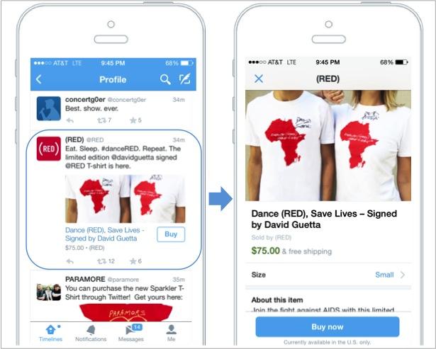 BuyNow FINAL IMAGE رسمياً .. تويتر تختبر زر الشراء ضمن التغريدات