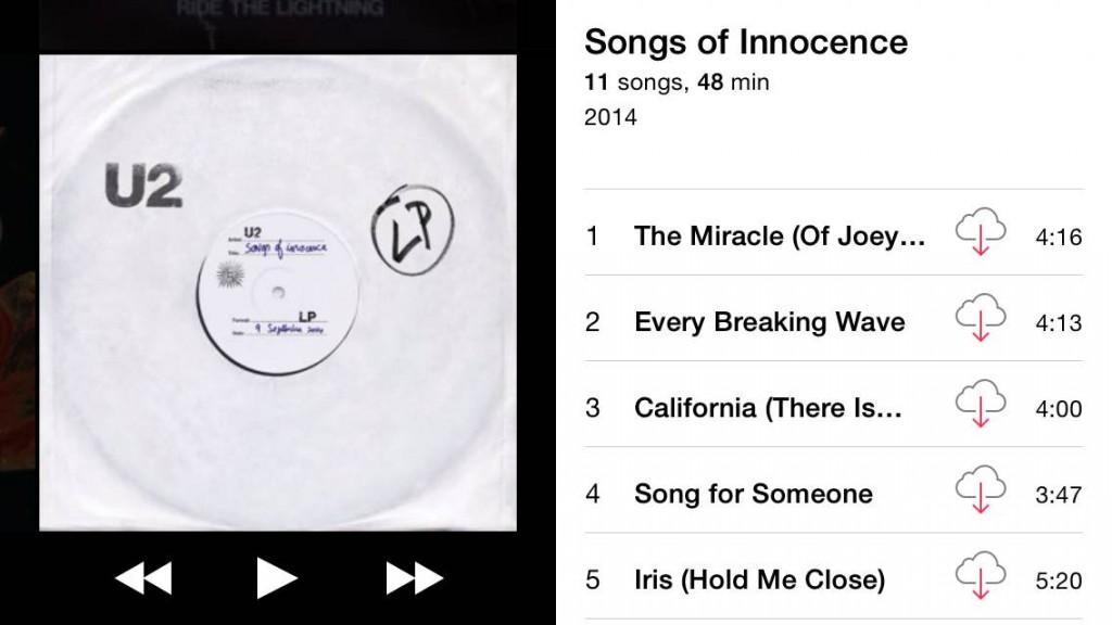 IMG 2756 1024x576 طريقة حذف ألبوم فرقة U2 من مشتريات الآيتونز