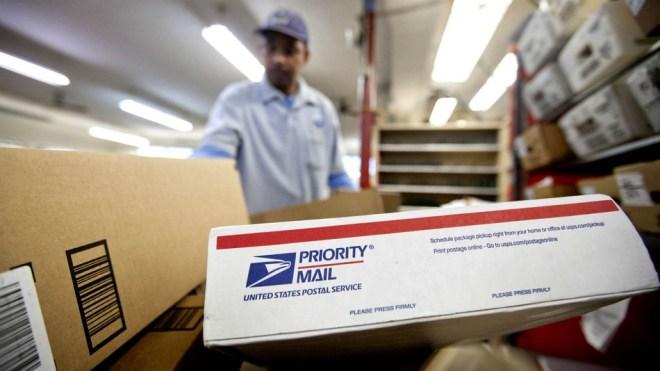الخدمة البريدية بالولايات المتحدة