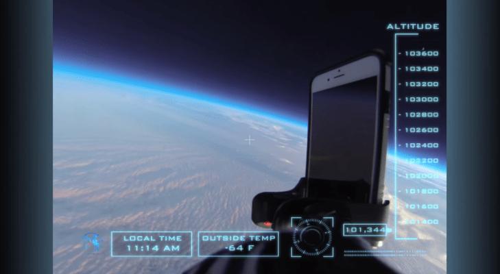 آيفون 6 الفضاء