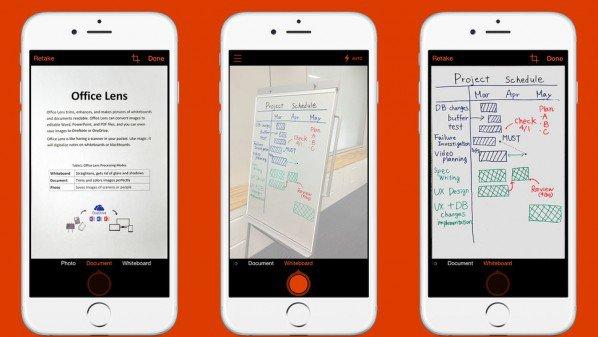 مايكروسوفت تطلق تطبيقها الماسح Office Lens على أندرويد و iOS
