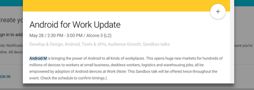 Android-M-mention-in-Android-for-Work