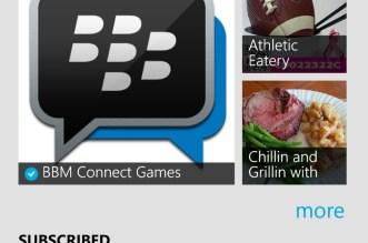 تحديث BBM على ويندوز فون يجلب خاصية القنوات