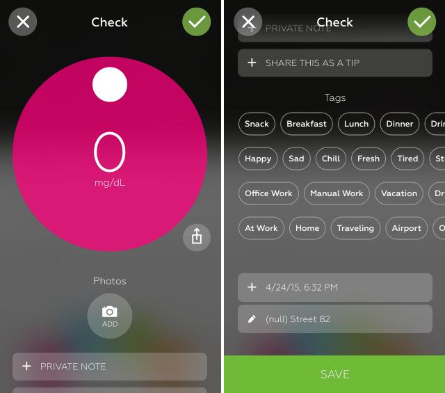 One Drop تطبيق صحي لإدارة مرض السكري على iOS