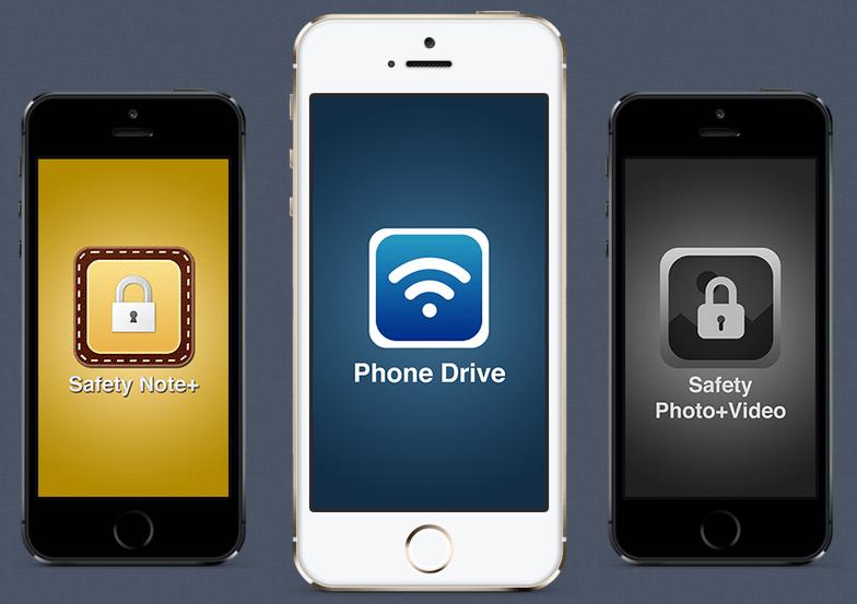 مع Phone Drive يمكنك إستخدام جهاز iOS كمحرك أقراص لاسلكي