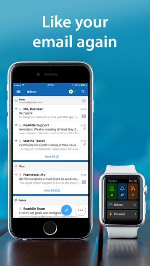 Spark تطبيق iOS جديد للتعامل مع البريد الإلكتروني بشكل أسرع وأذكى
