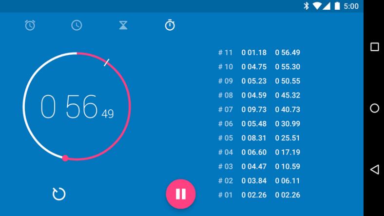 تطبيق Clock من قوقل الآن متوفر رسميًا على متجر قوقل بلاي