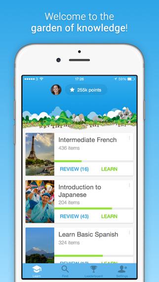 Memrise تطبيق مدرس اللغة الشخصي على أندرويد و iOS
