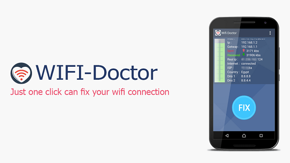 تطبيق WIFI Doctor مهم لإصلاح المشاكل الطارئة على واي فاي