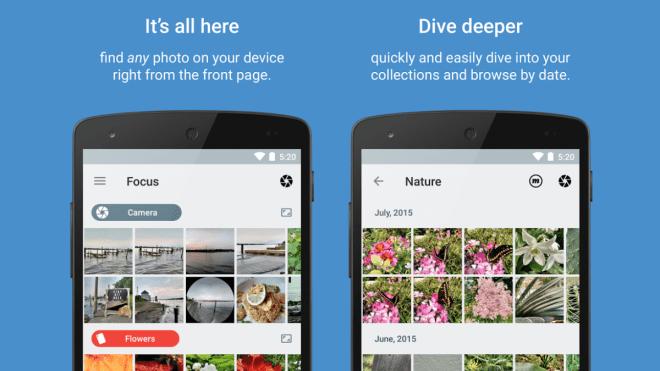تطبيق Focus على أندرويد معه ستتصفّح صورك بسرعة وسهولة