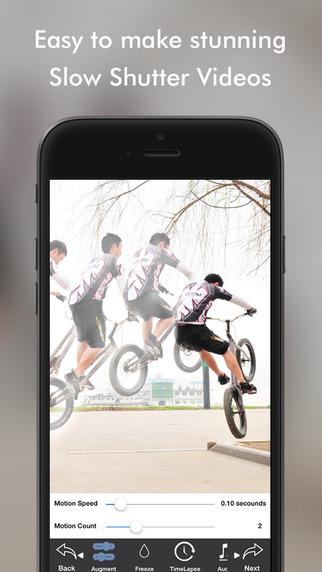 تطبيق Phantom Camera لإلتقاط فيديو بالتصوير البطيء على iOS