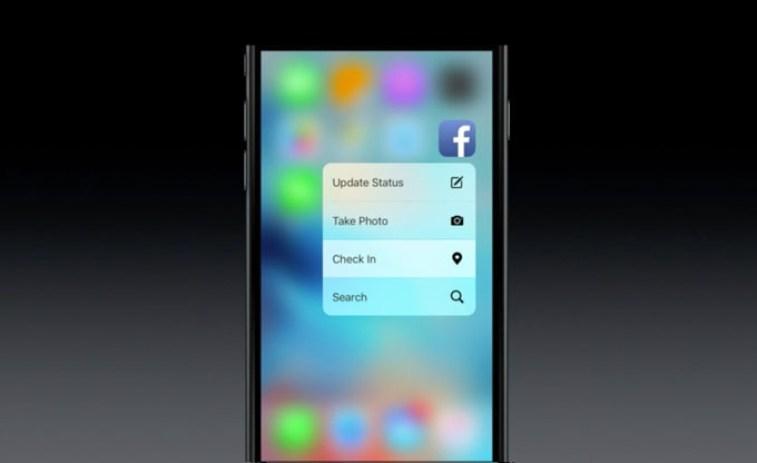 لائحة بتطبيقات iOS التي تدعم خاصية 3D Touch في آيفون 6S