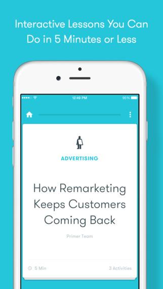 تحديث تطبيق روّاد الإعمال Primer من قوقل يجلب دروس جديدة وأكثر