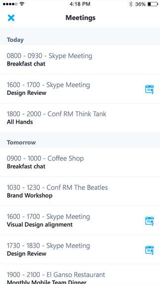 """سكايب للأعمال """"Skype for Business"""" الآن على iOS وقريبًا على أندرويد"""