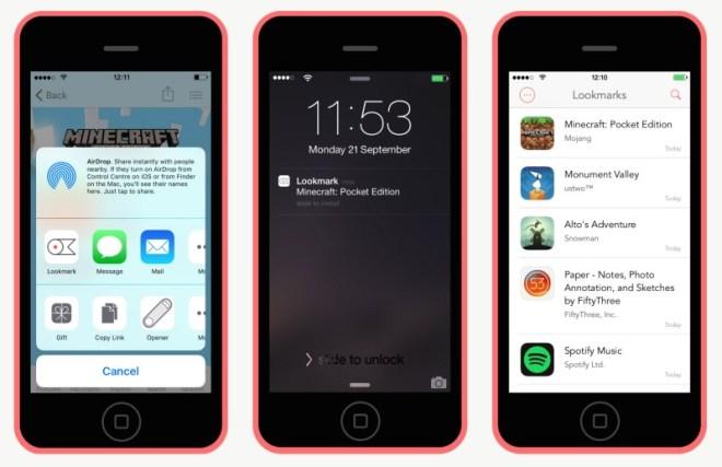 إضافة وتطبيق Lookmark لتحميل تطبيقات iOS لاحقًا