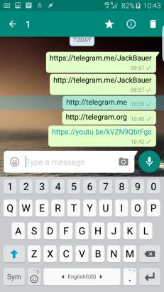 الواتساب تيليجرام 2
