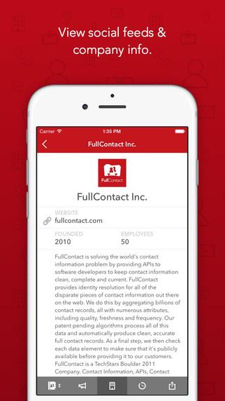 FullContact على أندرويد و iOS لإدارة جهات الإتصال من الألف إلى الياء