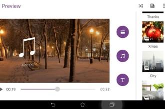 تطبيق MiniMovie صانع ومحرر الفيديو العملاق على أندرويد