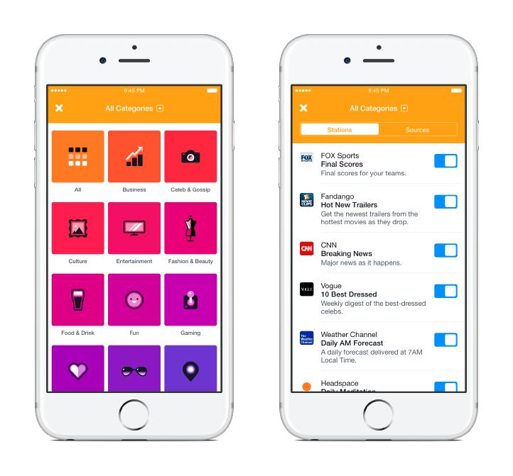 رسميًا فيسبوك تطلق تطبيق الأخبار خاصتها Notify على iOS