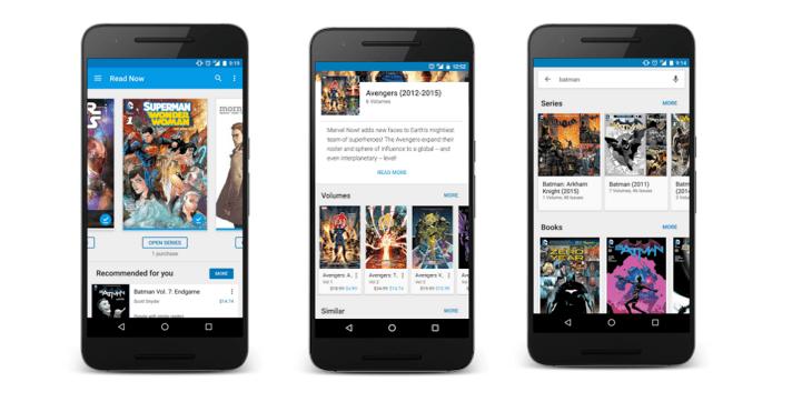 قوقل تُحدّث تطبيقها Play Books بدعمه لقراءة الصور المُصورة