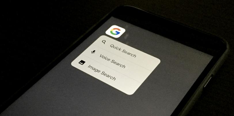 تطبيق Google يدعم الآن 3D Touch على آيفون وتعدد المهام على آيباد