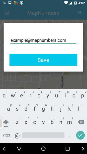 تطبيق MapNumbers على أندرويد لوصف عنوانك على الخريطة بالأرقام